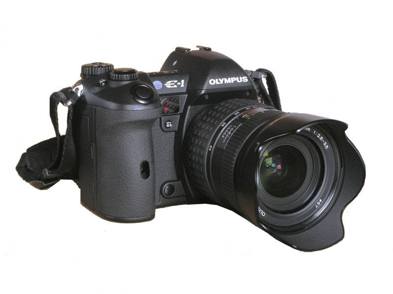 Olympus E1. 5MP Maschine!