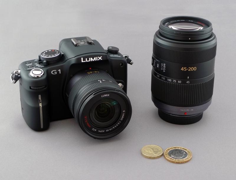 Lumix G1. Meine Aktuelle Systemkamera. Der Formfaktor und das Gewicht spielen eine große Rolle für mich.